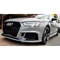 AUDI RS3 Sonax Ceramic Coating GlossCoat Ultra Si Carbon technology