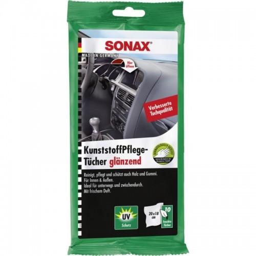 SONAX-Mαντιλάκια περιποίησης πλαστικών 10 τεμ.